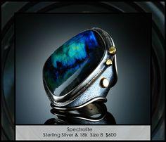 Amy Buettner ring-Spectrolite