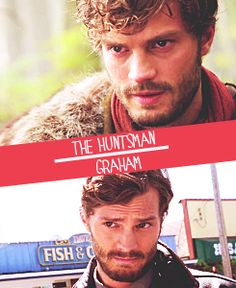 The Huntsman/Graham AKA Jamie Dornan,,,, Even with the Beard!