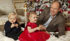 The Monaco palace shared a tender, laid back photo of Prince Albert playing on the floor with his adorable children.
