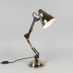 Lámpara de mesa BUZZ  latón