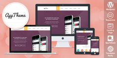 AppTheme – Perfect WP Responsive Theme for Products and Apps Showcase