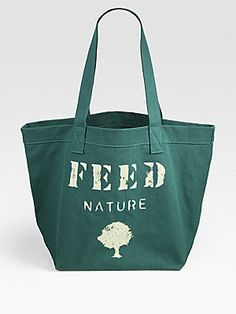 FEED FEED Nature Cotton Tote Bag - Be kind to mother earth
