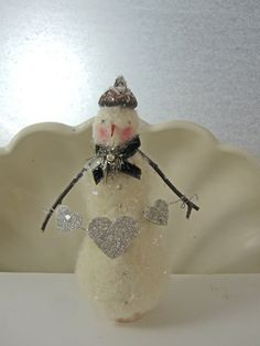 Super cute snowman!