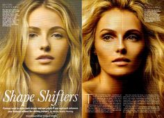Shape Shifters  Darker colors recede; highlighter makes an area more prominent.The contour colors should be no more than two shades darker than your skin tone and not too red or orange (so skip most bronzers). The highlighter should be almost the color of your skin, with just a hint of shine