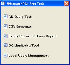 Active directory tools includes many features and components. AD is a directory service that is responsible for coordinating the network management and security management of Windows-based systems . AD was implemented in 1996 and quickly absorbed by other systems because of its many benefits . - See more at: net4tech
