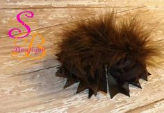 Brown Boutique Hair Bow by Shana's Boutique