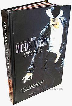 MICHAEL JACKSON BOOK Treasures 175 Pg Stunning  W/ Memorabilia Jason King - http://www.michael-jackson-memorabilia.co.uk/?p=8782