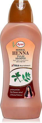 Ayur Herbal Henna Tulsi Shampoo :: Shampoos :: Health & Beauty :: iShopIndian.com