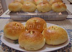 Danni e Lype: Pão Salgado com Presunto e Queijo
