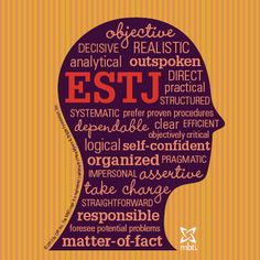 Check out this #ESTJ type head! #mbti #myersbriggs #type