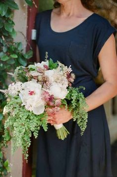 peony loose garden bouquet Art With Nature