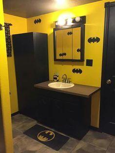 Batman Bathroom Decor With Photos And Recommendations Bathroom