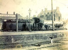 Hunstanton Railway Station c1905 Disused Stations, Steam Railway, Steamers, Steam Engine, Steam Locomotive, Forts, Train Station, Norfolk, Buses
