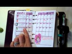 Tour of the current Filofax setup in my personal Malden (for Organized Heaven!)
