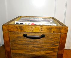 DIY LP Record Storage Box .. ON WHEELS! | Impatiently Crafty