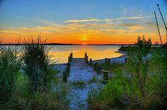 Fenwick Island Sunset by Monte Morton..........not long now