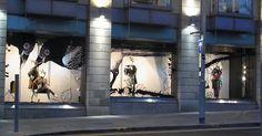 Harvey Nichols Illustrated Windows - Edinburgh