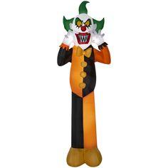 Outdoor Airblown Halloween Decoration Garden Yard Inflatable Clown 12ft Decor #AirblownInflatable