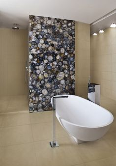 Ceramic tiles collection Party by Margres  Exotic gemstone slab