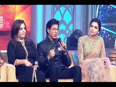 Shahrukh Khan, Deepika Padukone and the entire star cast @ music launch of HAPPY NEW YEAR - 2