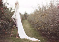 Photo shoot in an apple orchard? Maybe a picnic? Farm Wedding, Wedding Engagement, Whimsical Photography, Photography Ideas, Apple Garden, Howl At The Moon, Dreams And Nightmares, Apple Orchard, Photoshoot Inspiration