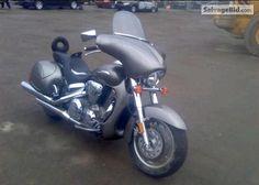 2007 HONDA VTX1300R VIN: 1HFSC52667A408317
