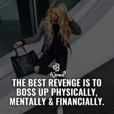 No revenge just do it Motivacional Quotes, Babe Quotes, Badass Quotes, Queen Quotes, Woman Quotes, Qoutes, Rich Quotes, Girly Attitude Quotes, Girly Quotes