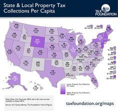 State & Local Property Tax Collections Per Capita
