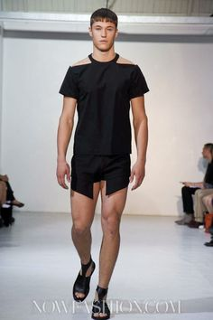 Mugler Menswear Spring Summer 2013 Paris