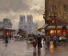 Edouard Leon Cortes (1882-1969) - Paris: Part II