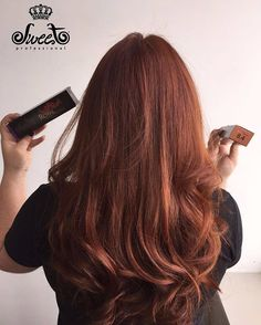 Ruivo 8.4 da Roya Colour, Sweet Hair! Lindo demais! #sweethairprofessional  www.sweethair.com.br