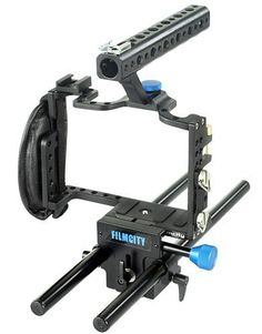 Have An Inquiring Mind Neewer Dslr Dual Handle Hand Grip For Shoulder Pad Chest Steady 15mm Rail Rod Rig Support System Photo Studio Accessories Camera & Photo Accessories