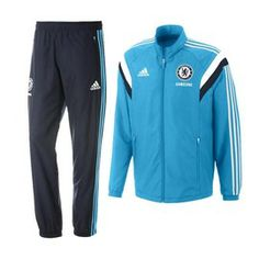 Chelsea Kids (Boys Youth) Presentation Suit 2014 – 2015, support The Blues in this cool looking tracksuit. http://www.soccerbox.com/34000