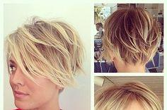 kaley cuoco haircut - Google Search