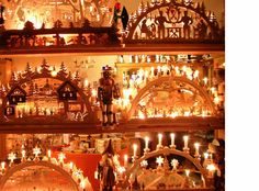 German Christmas arches.