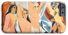 Les Demoiselles D'Avignon Picasso iPhone and  Samsung Case. By RicardMN Photography