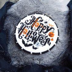 Happy Halloween Cross Stitch Pattern Cool Cross Stitch