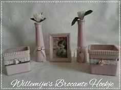 powder pink set tealight holders and vases ©Willemijn