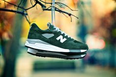 "New Balance 998BB ""Money Green"" ©2012 Angel Gonzalez/Vagrant Sneaker"