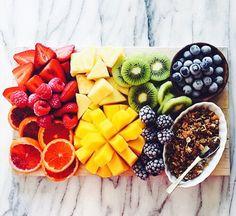 Imagen de fruit, food, and healthy Get Healthy, Healthy Eating, Healthy Recipes, Happy Healthy, Healthy Food, Food Pyramid, Tasty, Yummy Food, We The Best