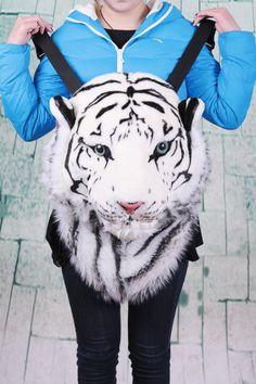 Nueva novela 2014 especial nueva enorme lujo enfriar la cabeza del tigre del león estilo del tigre negro cabeza bolsa mochila mochila mochila tigre venta al por mayor en Mochilas de Bolsos y Maletas en AliExpress.com   Alibaba Group