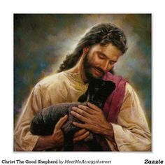 Christ The Good Shepherd Poster