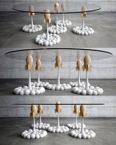Rocket Coffee Table by Stelios Mousarris. #p_roduct