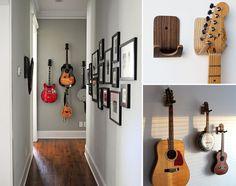 Como integrar os seus instrumentos musicais na decoração ;)