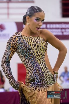 Learn To Ballroom Dance And Feel Your Soul Latin Ballroom Dresses, Ballroom Dancing, Dance Bodysuits, Ballroom Costumes, Dance Costumes, Dance Fashion, Leopard Dress, Skating Dresses, Costume Dress