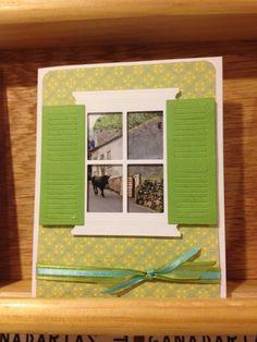 Photo Window Card