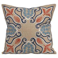 Damask Pillow.