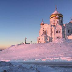 Berlosgorsky Monastry in Perm, Russia