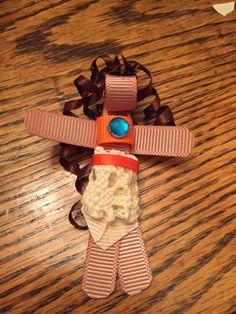 Moana Ribbon Clip barrette by Reneespixiedust on Etsy