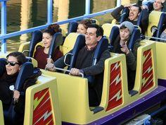 sarah hyland modern family goes to disneyland | Spotted: Modern Family Cast Heads to Disneyland to Film an Upcoming ...